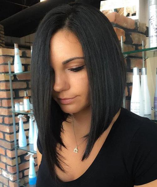 Asymmetrical Cut Lob
