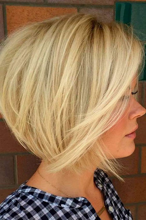 Graduated Bob Hairstyles For Fine Hair