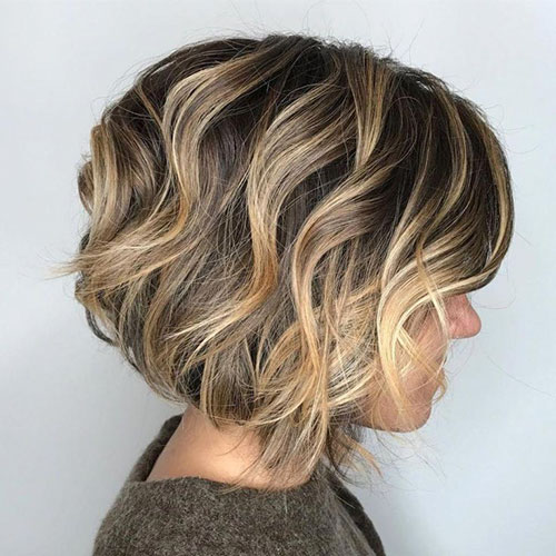 Layered Choppy Bob 2020