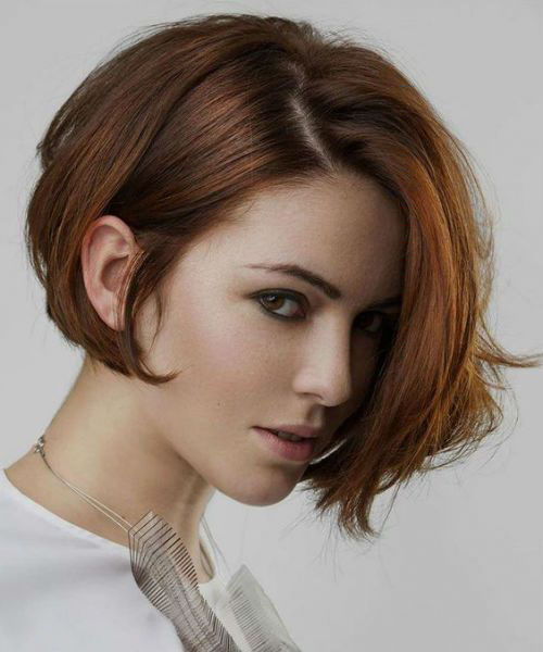 Asymmetrical Short Bob 2020
