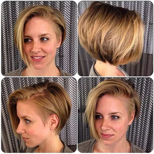 Asymmetrical Bob Short Hair
