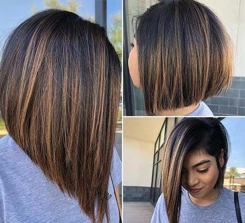 Asymmetrical Lob Haircut
