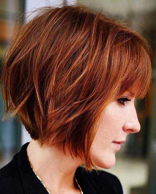 Choppy Layered Bob Haircut