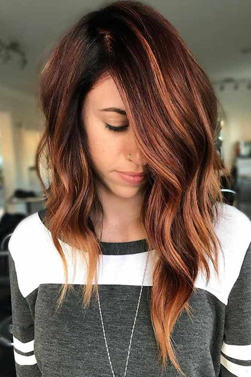 Asymmetrical Lob Hairstyles 2020