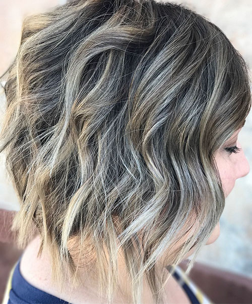 Textured Lob Haircut