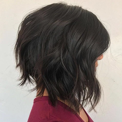 Hairstyles For Graduated Bob