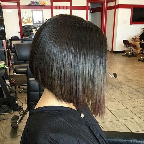 A Line Bob Haircut