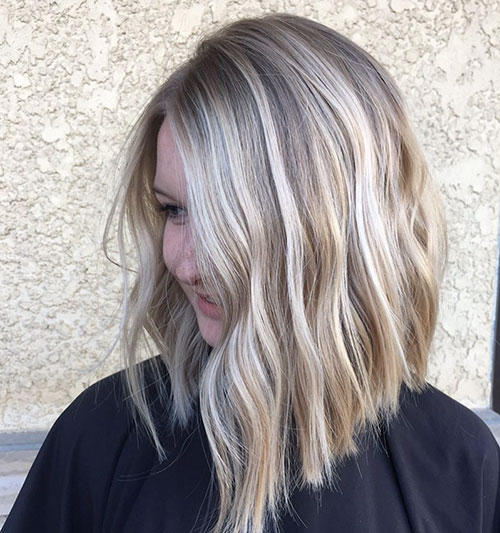Pictures Of Long Bob Hairstyles