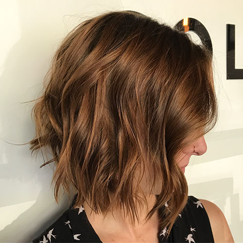 Textured Bob Hairstyles