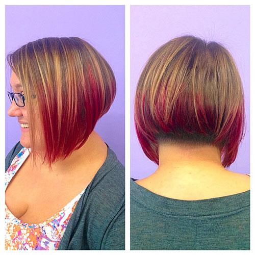 Inverted Bob Hair Cut