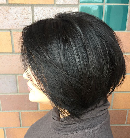 New Layered Bob Haircuts