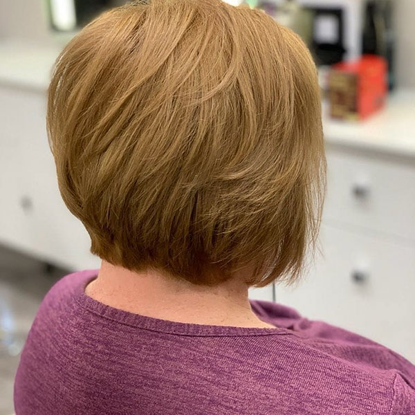 Images Of Short Layered Bob Hairstyles